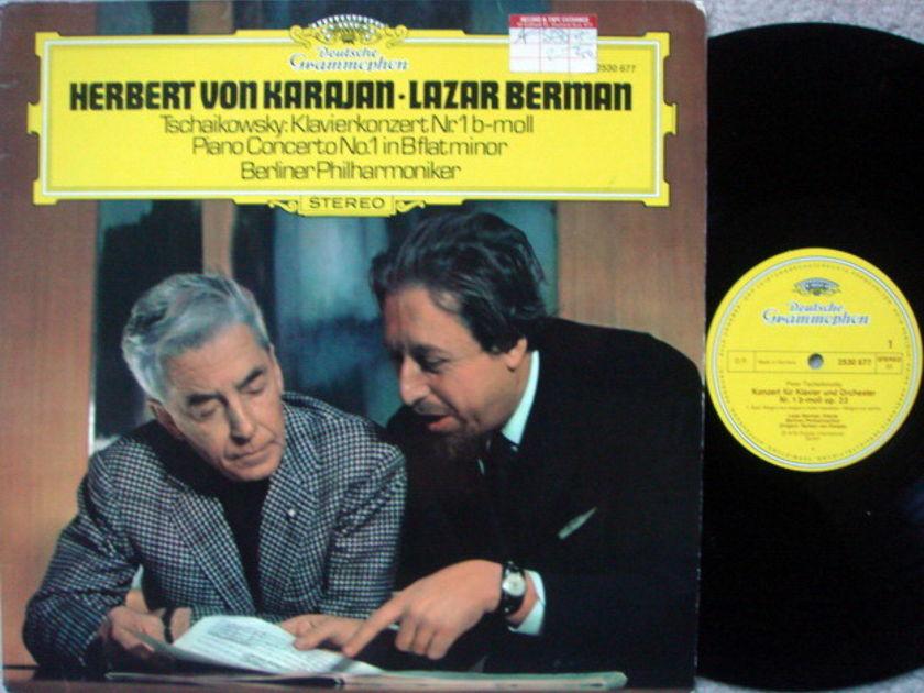 DG / BERMAN-KARAJAN, - Tchaikovsky Piano Concerto No.1, MINT!
