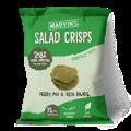 Marvin's Salad Crisps: Herby Pea and Feta Falafel