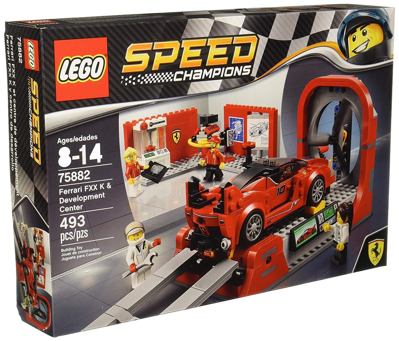 LEGO 75882: Ferrari FXX K & Development Center