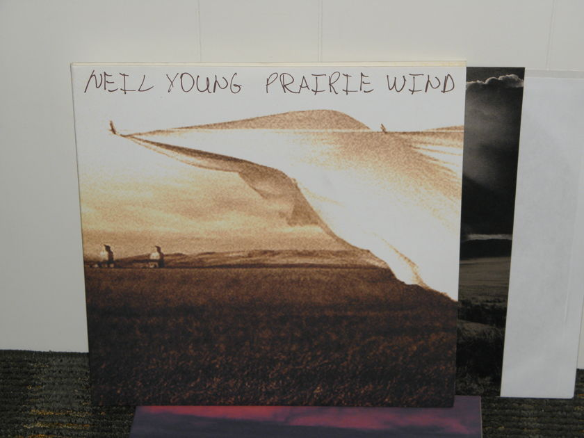"Neil Young  - ""Prairie Wind"" 2LPs 2005 Orig 1ST Edit Reprise 49593-1"