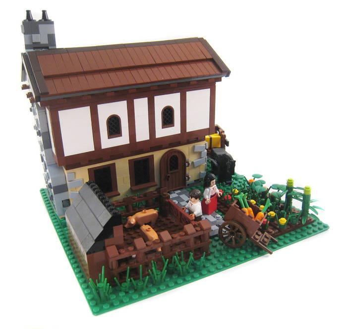 lego  Medieval Farm