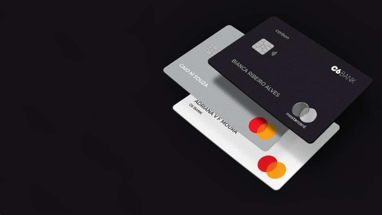 Cartão de crédito e débito C6