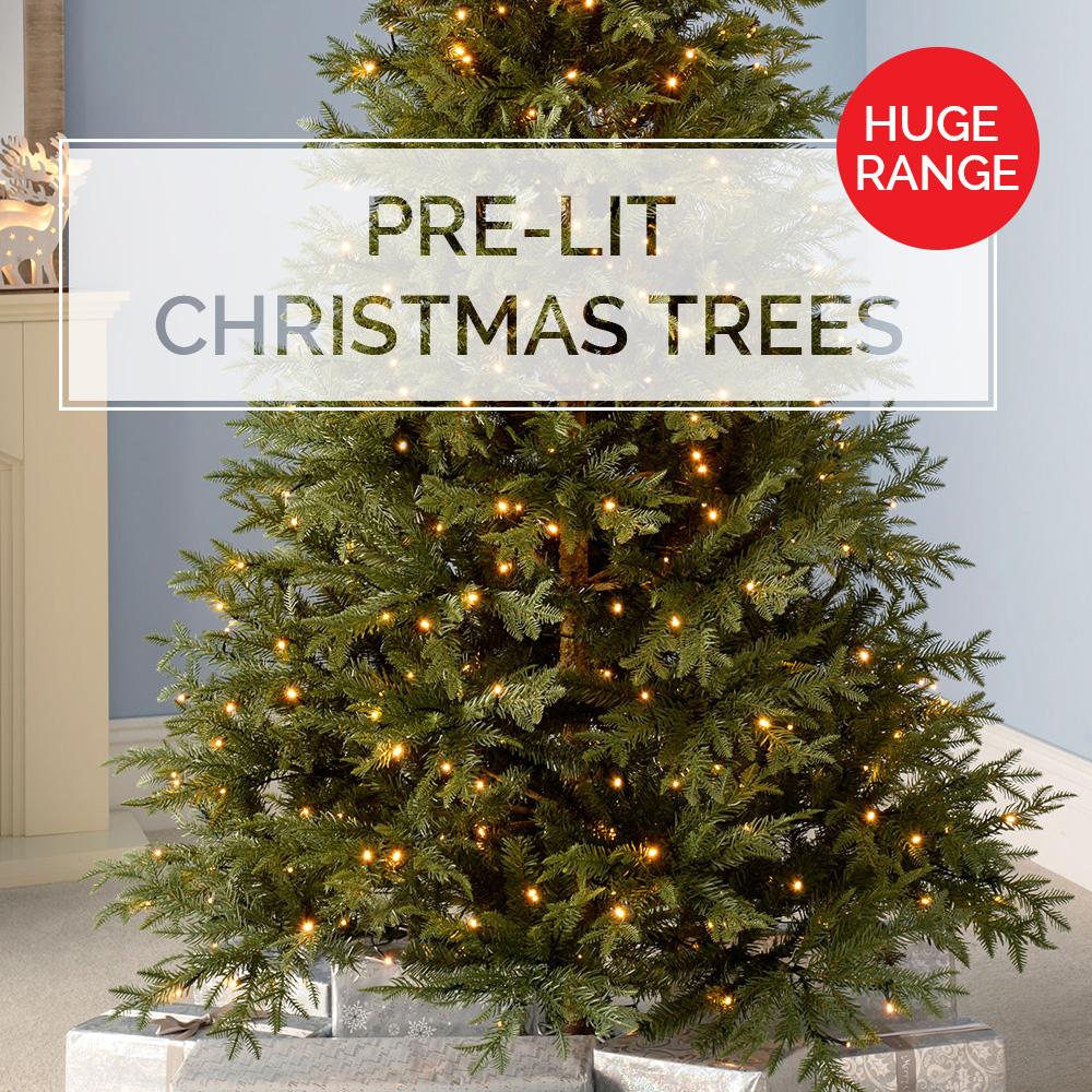 reputable site 0e90a 9cbcd WeRChristmas Pre Lit Christmas Trees & Fibre Optic Trees ...