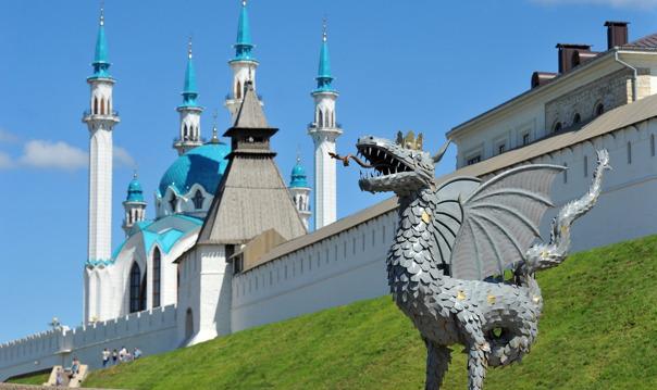 Расширенная экскурсия по Казани на транспорте туриста