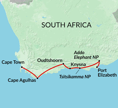 The Garden Route 7 Days Encounters Travel
