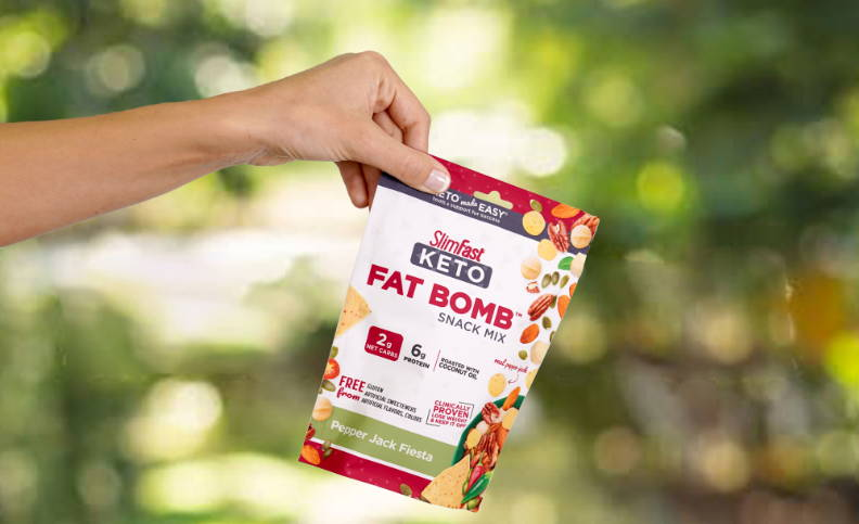 Keto Fat Bomb Snack mix, very convenient snack- lifestyle image