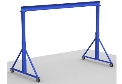 portique portatif gorbel gantry crane