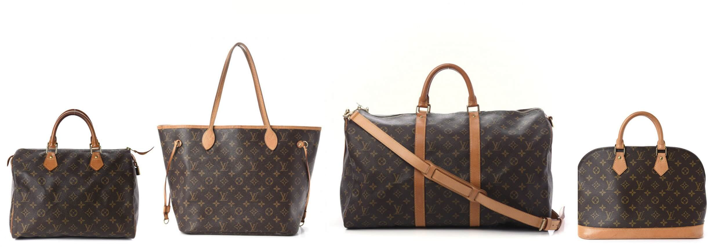 Four Louis Vuitton Bags