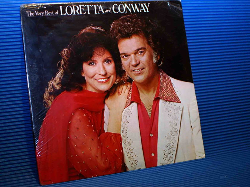 "LORETTA LYNN/CONWAY TWITTY -  - ""The Very Best Of Loretta & Conway - MCA 1979 Sealed"