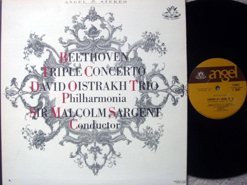 EMI Angel / OISTRAKH TRIO, - Beethoven Triple Concerto,  NM!
