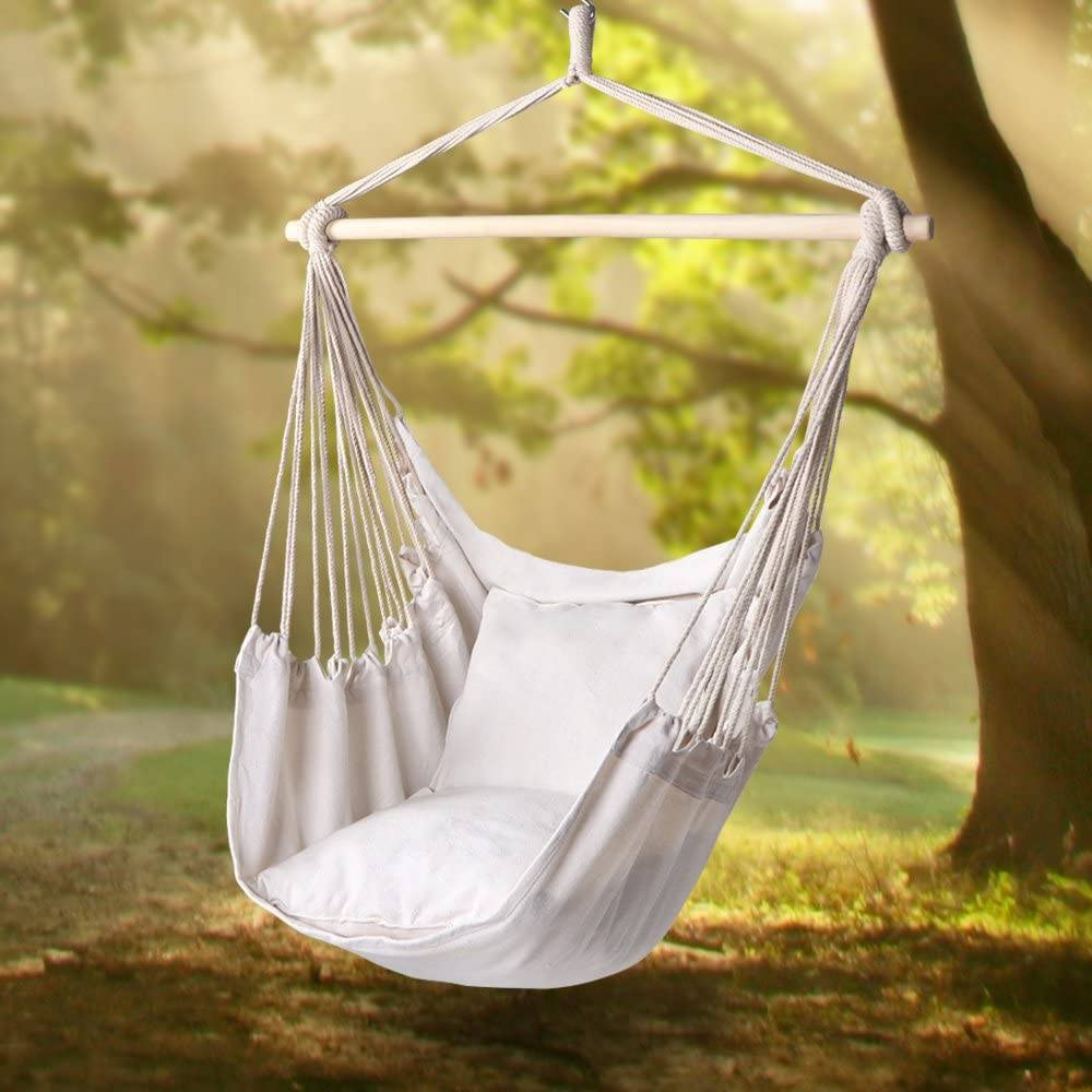 Hammock Chair with pillows