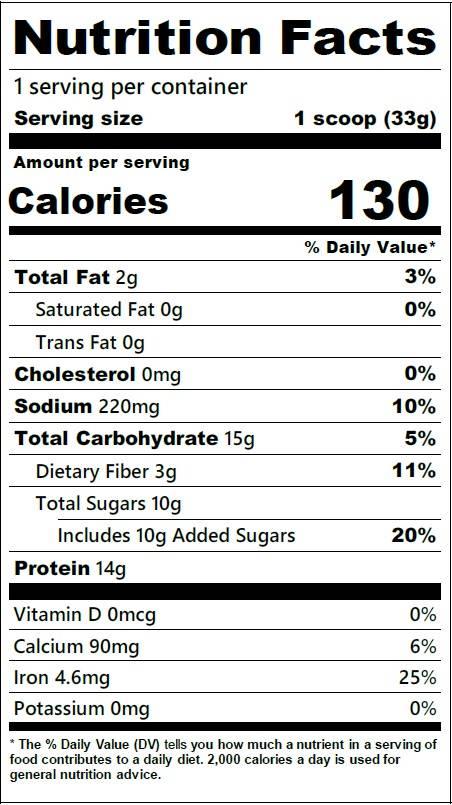 Meal2Grow Vanilla Sneakz