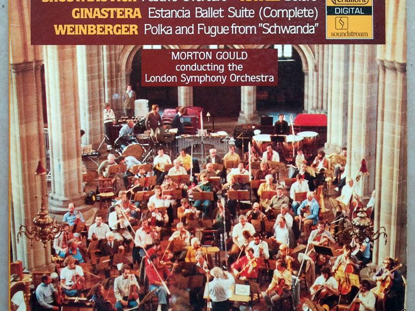 CHALFONT | MORTON GOULD/SHOSTAKOVICH - Festive Overture/GINASTERA Estancia/WEINBERGER Polka and Fugue from Schwanda / NM