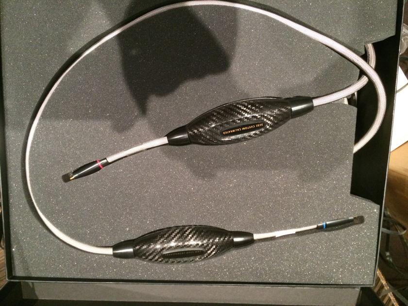 Transparent Audio Opus MM2 single ended interconnect 60' feet long XLR>RCA connectors