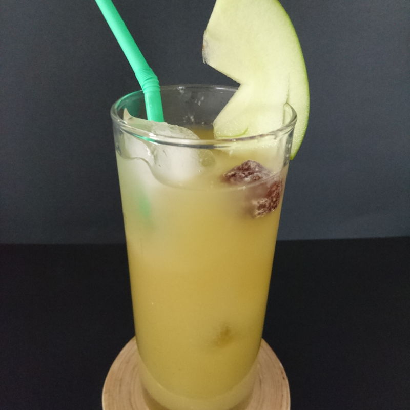 Date: 9 Nov 2019 (Sat) 15th Drink: Jus Epal Asam Boi (Green Apple with Asam Boi) [92] [105.8%] [Score: 10.0]