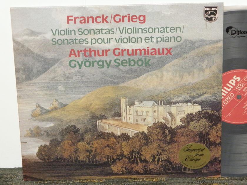 Arthur Grumiaux/Gyorgy Sebok - Franck/Greig Violin Sonatas Philips Import Pressing 9500 568