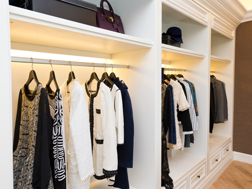 How closet lighting can really brighten your day