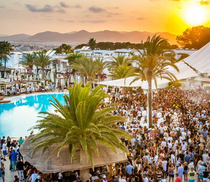 Pool party clubs Destino Ibiza calendar and tickets