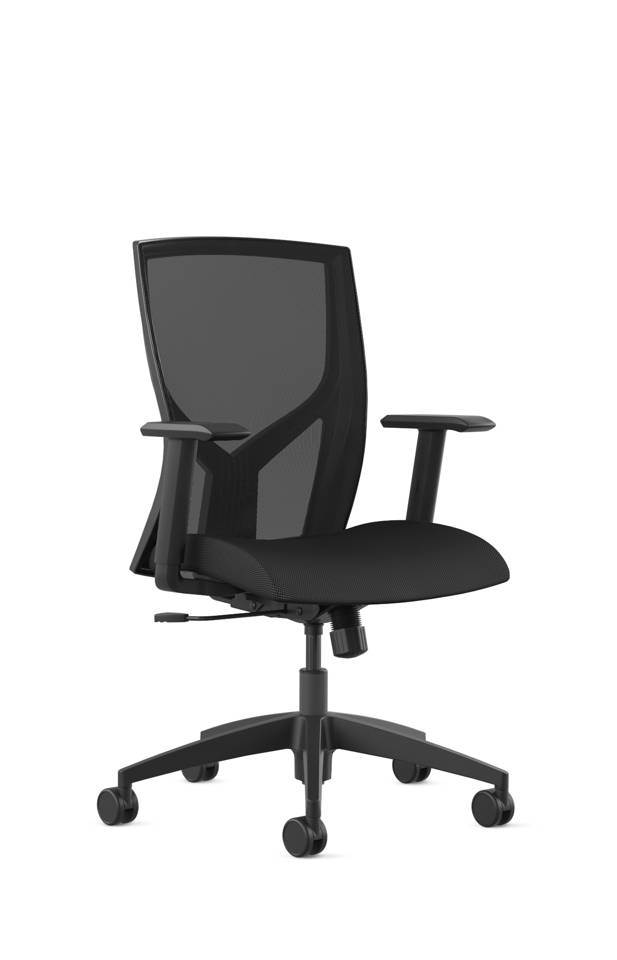 SitOnIt Mika 4 leg chair with seat fabric