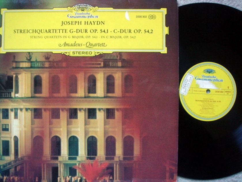 DG / AMADEUS QT, - Haydn String Quartets Op.54 No.1 & 2, NM, Promo Copy!