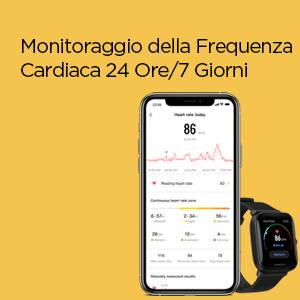 Amazfit Bip U - Monitoraggio della Requenza Cardiaca