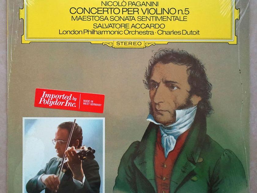 Sealed DG   ACCARDO/DUTOIT/PAGANINI - Violin Concerto No. 5