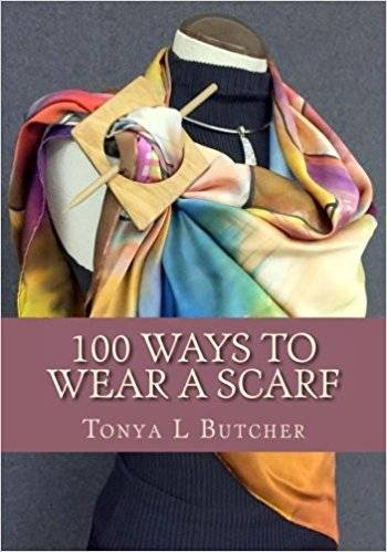 book cover 100 ways to wear a scarf