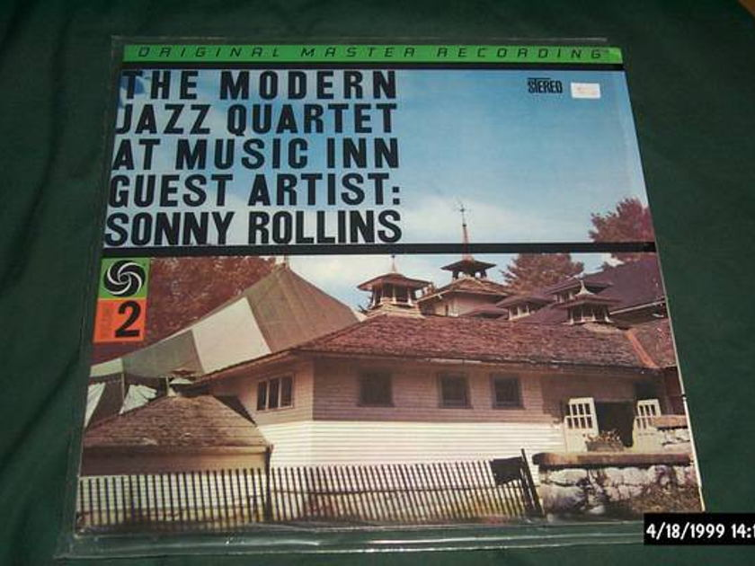Modern Jazz Quartet - MFSL audiophile at music inn lp nm