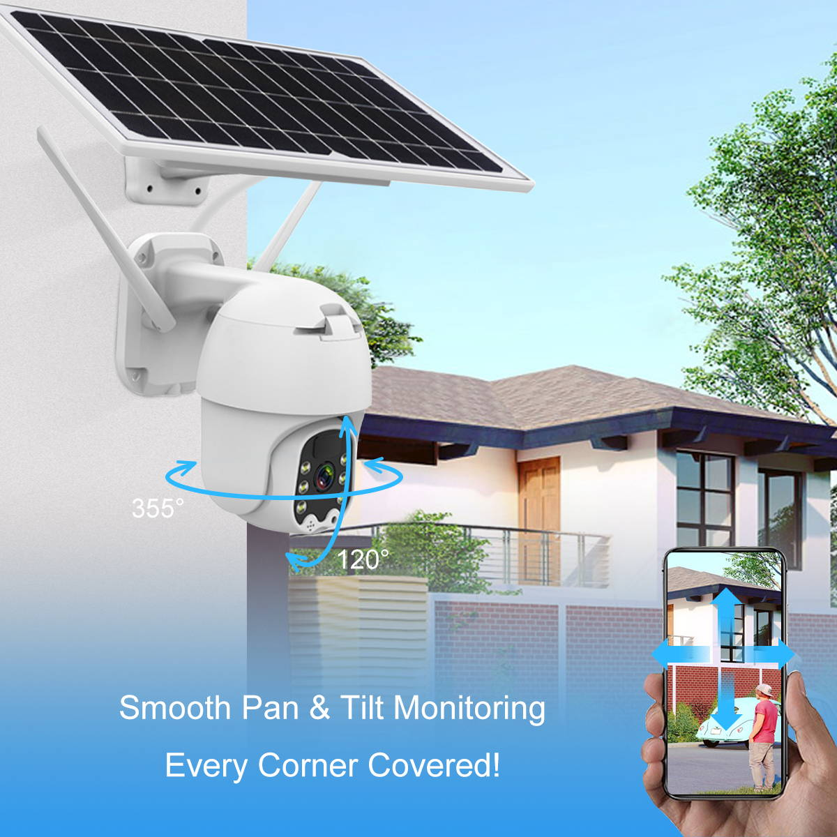 solar cameras for outside solar powered outdoor security camera, solar powered wireless security camera system with dvr,
