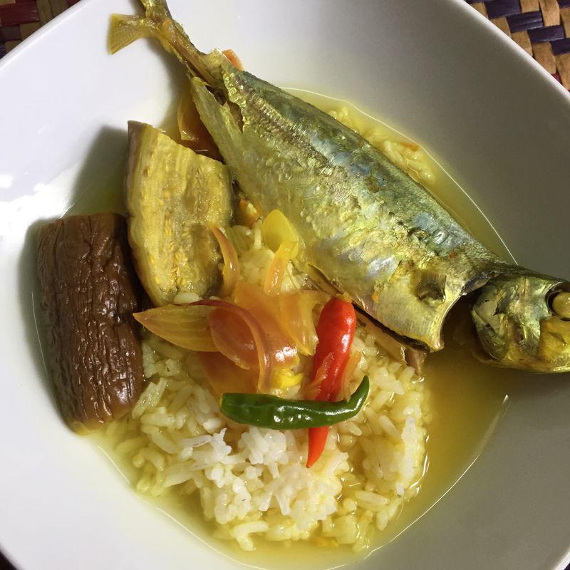 Singgang ikan & rice