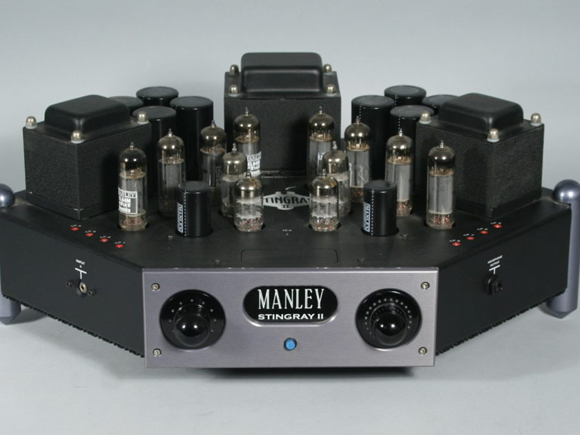 Manl Stingray II Tube Integrated Amplifier with KT88's