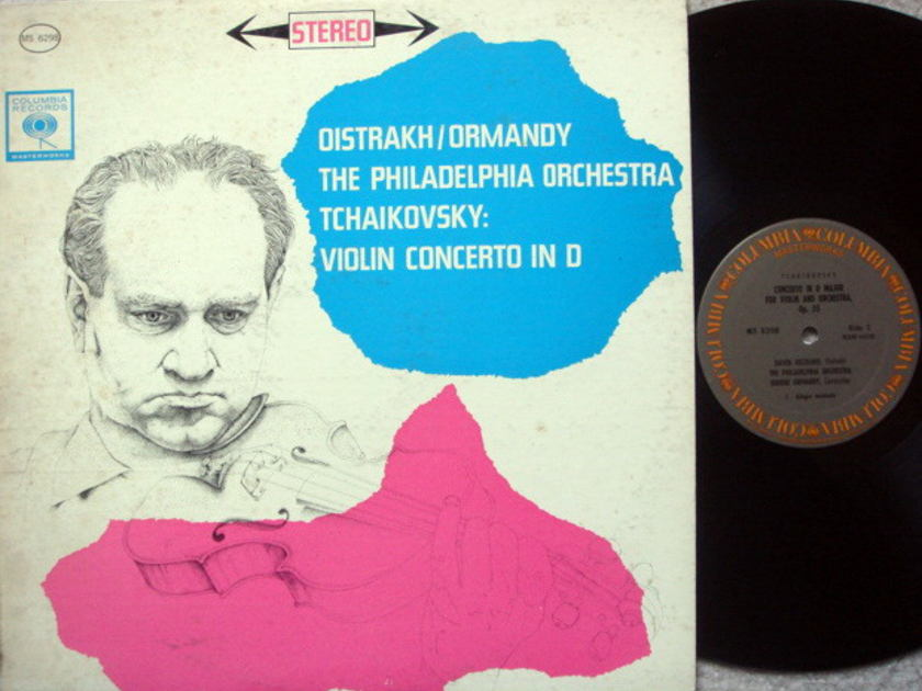 Columbia / OISTRAKH-ORMANDY, - Beethoven Violin Concerto, NM!