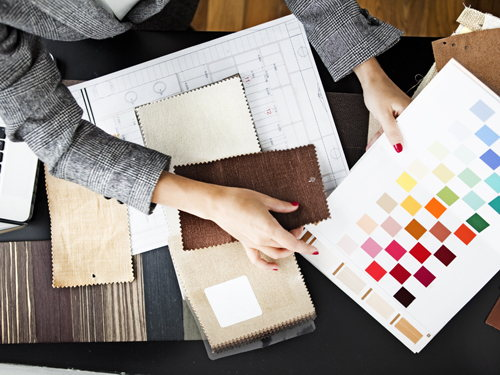 & Real estate and interior design: colourful careers perfectly matched