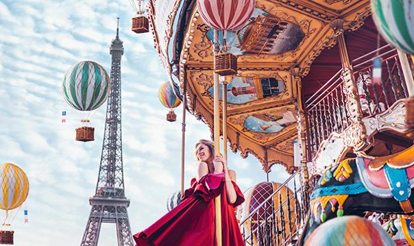 Париж для блогеров