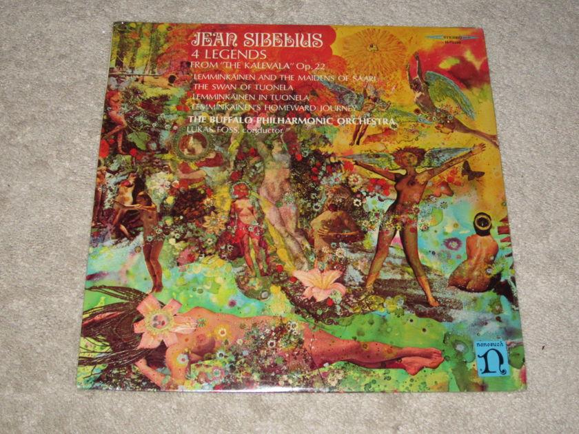 Nonesuch (Sealed) - H-71203 Sibelius: Four Legends