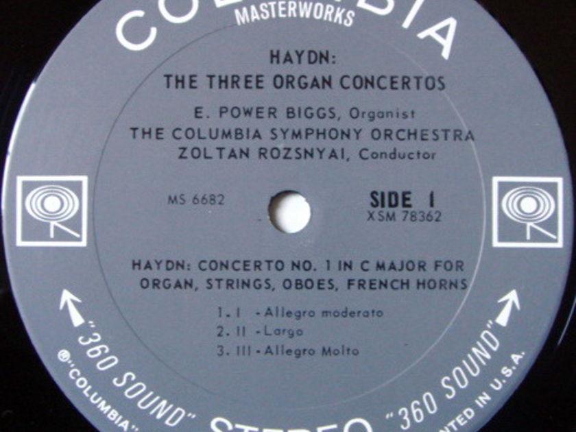 Columbia 2-EYE / POWER BIGGS, - Haydn The Three Organ Concertos, NM!