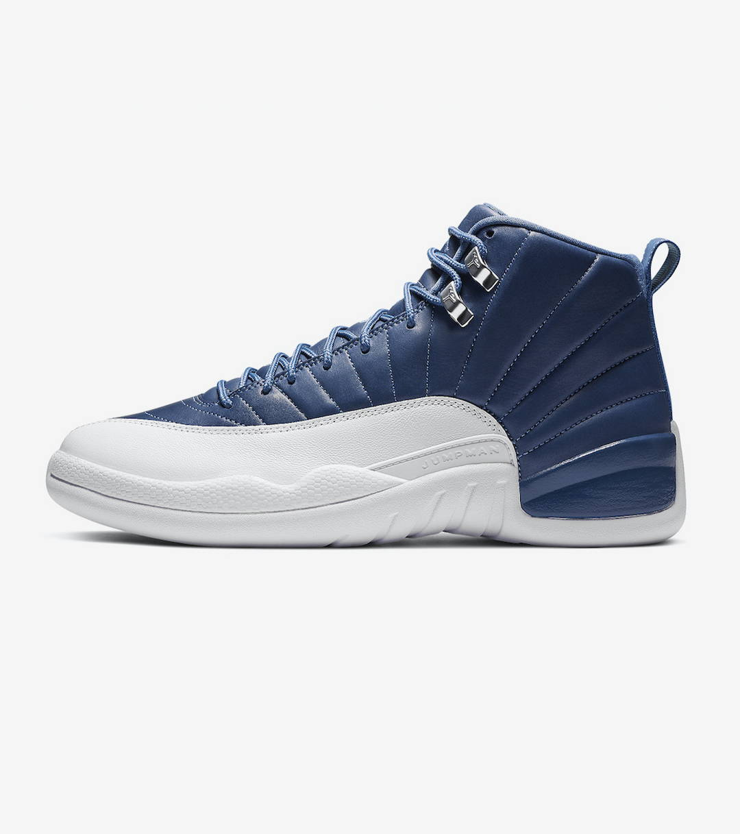 "AIR JORDAN 12 RETRO ""STONE BLUE"""