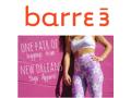 Three Barre3 Classes and Yoga Leggings
