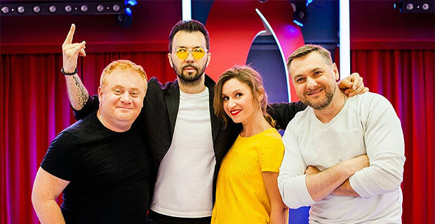 Dенис Клявер в гостях у «Русских Перцев» - Новости радио OnAir.ru