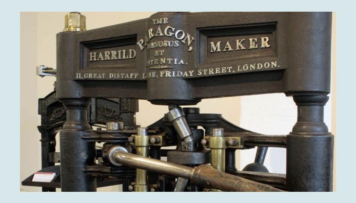 stiftung werkstattmuseum für druckkunst leipzig alte druck maschine