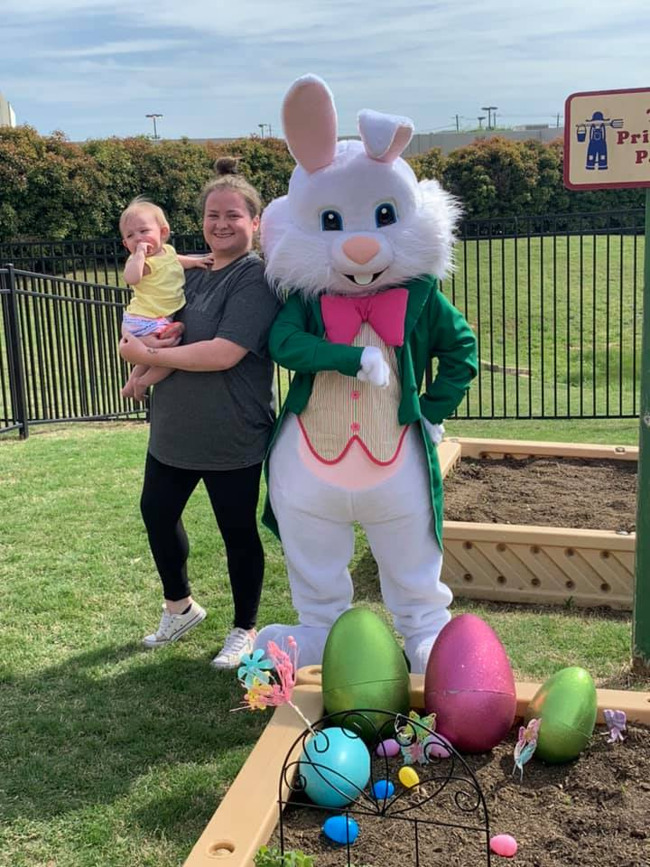 Easter Egg Hunt at Primrose of Highland Village