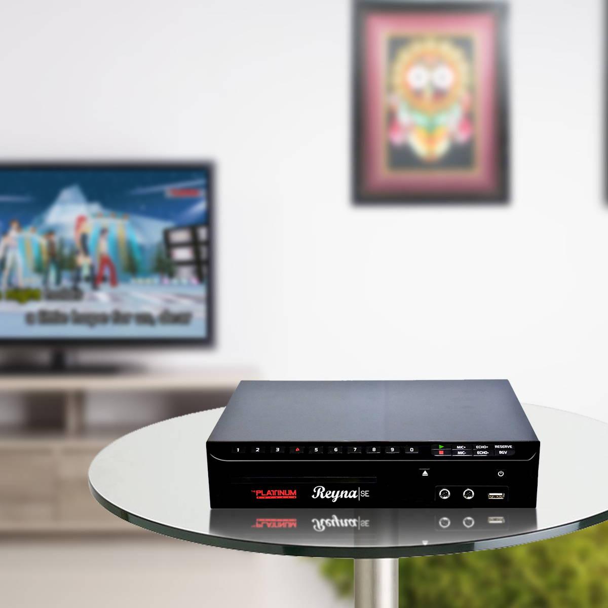 Reyna SE + KS-5000 – Platinumkaraoke com