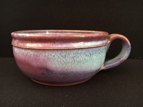 Soup Mug by Iris Mink of Purple Sage Pottery (18oz)