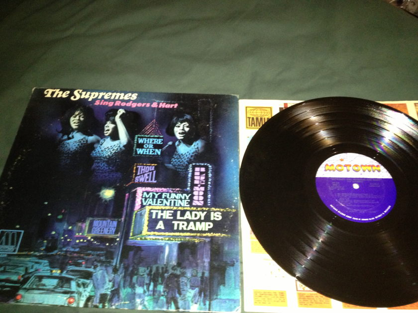 Supremes - Sing Rodgers & Hart MONO  Motown LP NM
