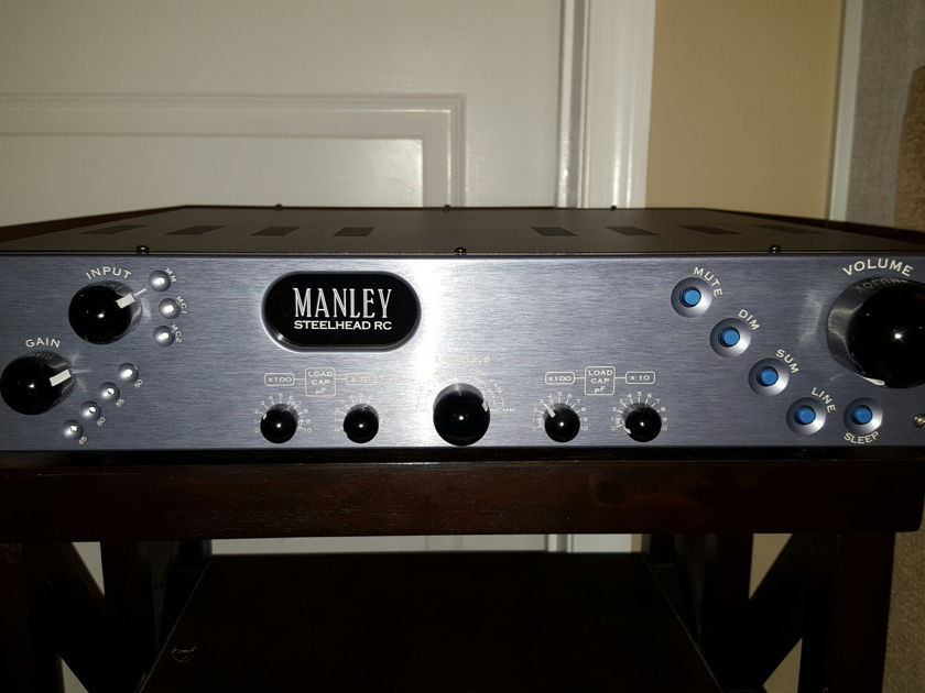 Manley Laboratories Steelhead RC (Remote Control) Phono Stage :  Trades Considered