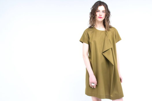 Платье Golden с углом