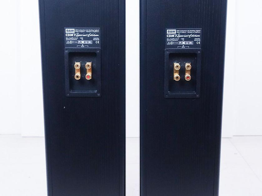 B&W CDM 7SE Floor Speakers; Pair; Bowers & Wilkins (8788)