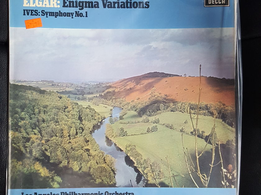 HARRY PEARSONS PRIVATE COLLECTION  - ELGAR ENIGMA VARIATIONS ZUBIN MEHTA DECCA *TAS SUPER DISC LIST ALUMNI*