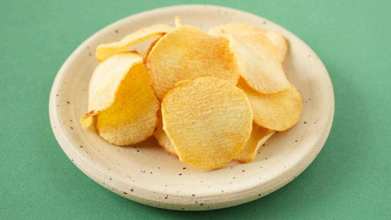 Fried Arrowhead Chips