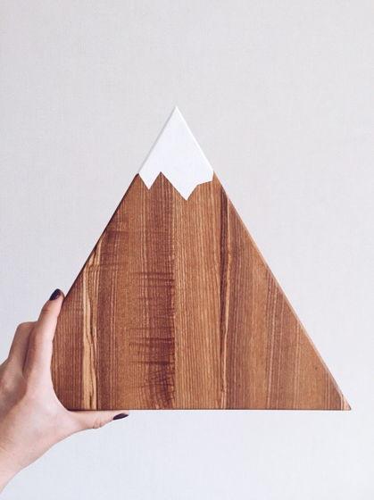 Разделочная доска Гора